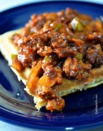 Sloppy Joes Recipe | ©addapinch.com