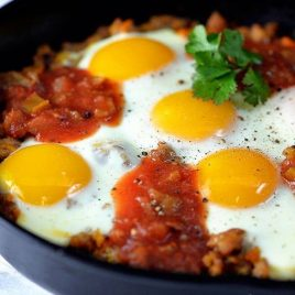 Sweet Potato Hash Recipe | ©addapinch.com