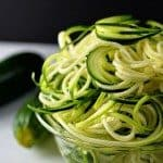 Zucchini Pasta Recipe