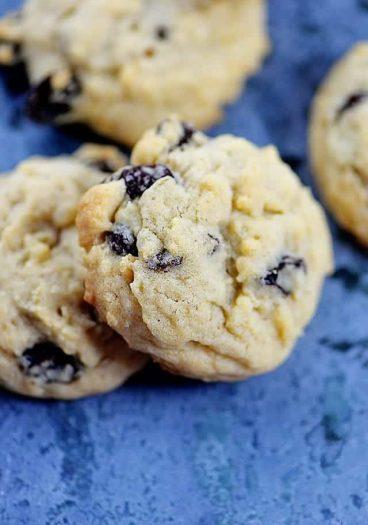 Soft Oatmeal Raisin Cookies Recipe | ©addapinch.com