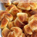 Cinnamon Sugar Knots Recipe
