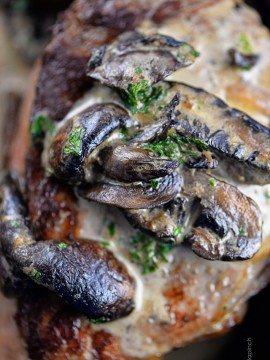Mushroom Cream Sauce Recipe