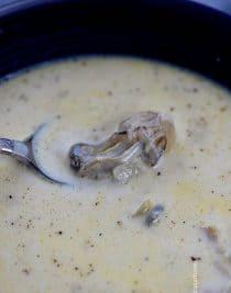 Oyster Stew Recipe | ©addapinch.com