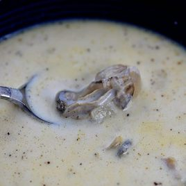 Oyster Stew Recipe | ©addapinch.com