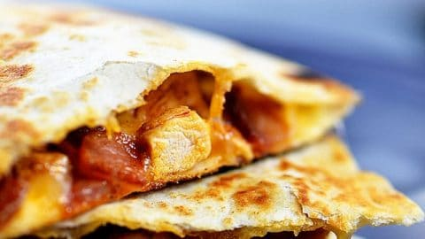 Perfect Chicken Quesadilla Recipe Add A Pinch