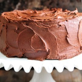 Pleasing Perfect Chocolate Buttercream Frosting Recipe Add A Pinch Funny Birthday Cards Online Fluifree Goldxyz