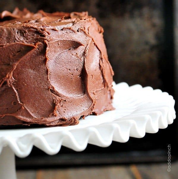 Perfect Chocolate Buttercream Frosting Recipe Add A Pinch