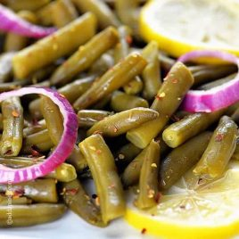 Spring Green Beans Recipe | ©addapinch.com