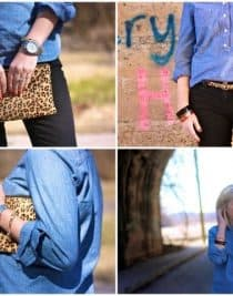 Wardrobe Staples Chambray Shirt | ©addapinch.com