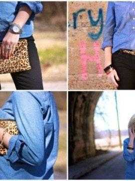Wardrobe Staples: The Chambray Shirt