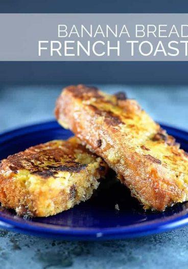 Banana Bread French Toast | ©addapinch.com