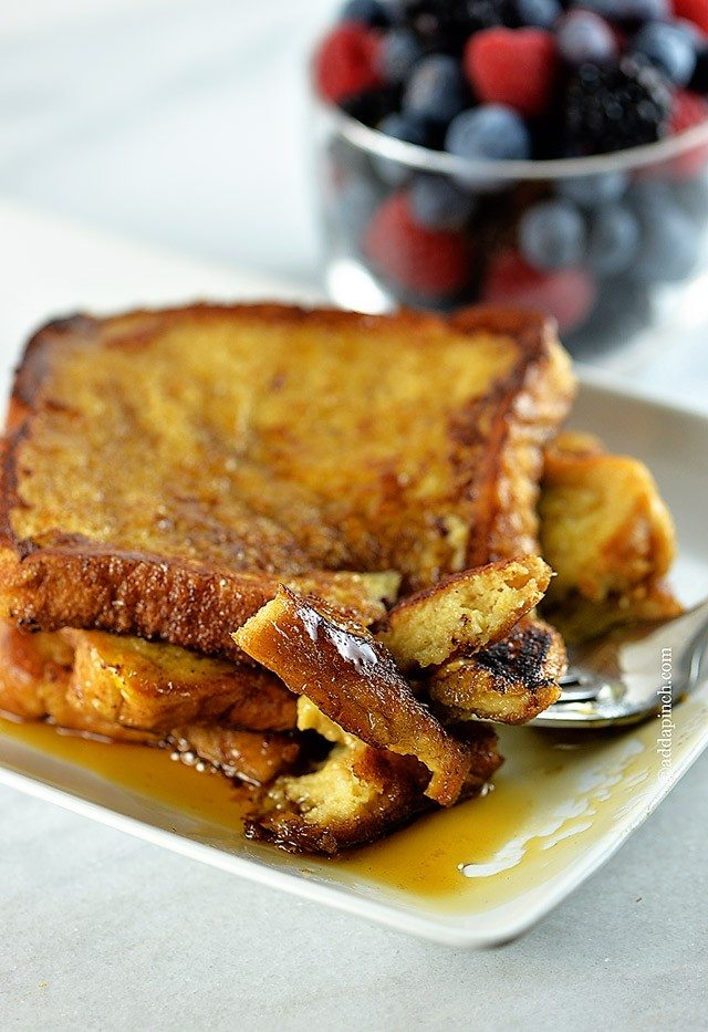 French Toast Recipe | addapinch.com