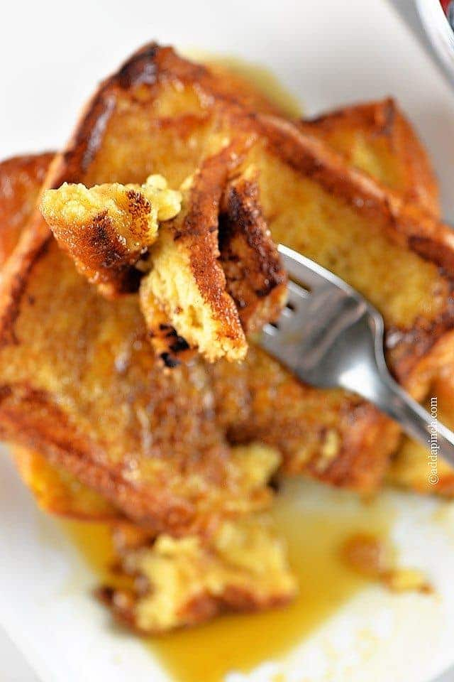 French Toast Recipe | ©addapinch.com