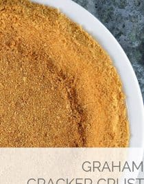 Graham Cracker Crust | ©addapinch.com