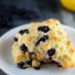 Lemon Blueberry Scones Recipe