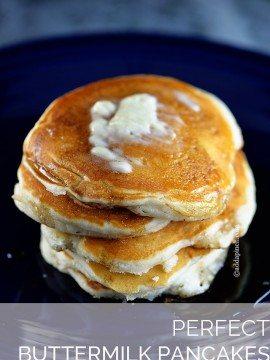 Perfect Buttermilk Pancake Recipe
