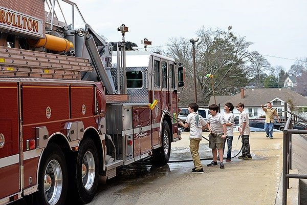 Lunch for the Firemen | ©addapinch.com