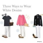 Wardrobe Staples :: White Denim