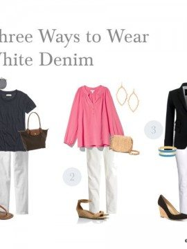 Wardrobe Staples :: White Denim