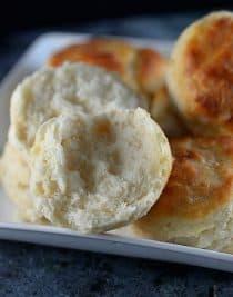 Angel Biscuits Recipe | ©addapinch.com