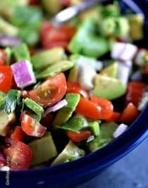 Avocado Salsa Recipe | ©addapinch.com