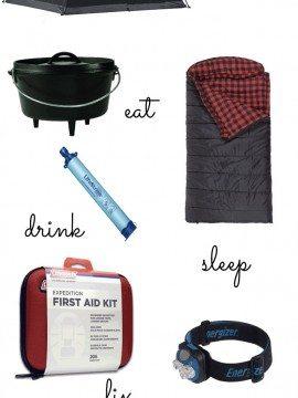 A Few Camping Essentials