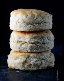 Cream Biscuit Recipe | ©addapinch.com