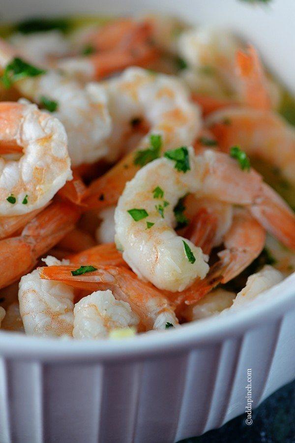 Garlic Shrimp   ©addapinch.com