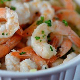 Garlic Shrimp | ©addapinch.com