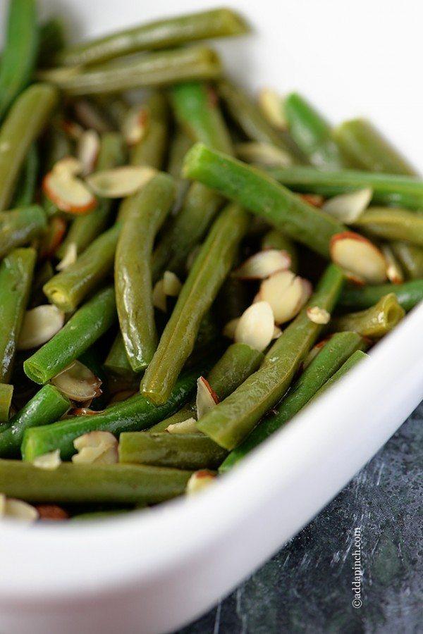 Green Beans Almandine   ©addapinch.com