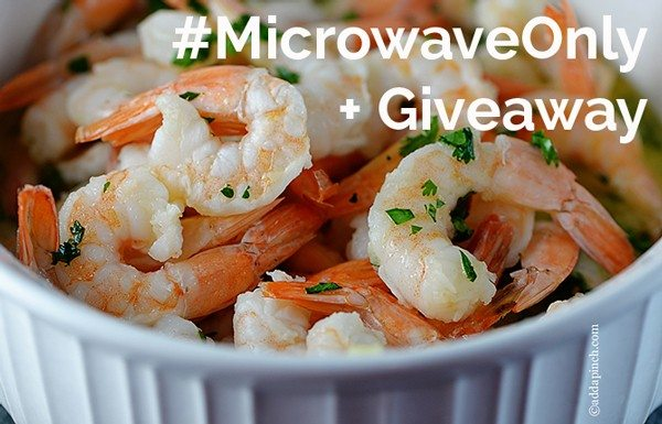 Microwave Only Giveaway   ©addapinch.com