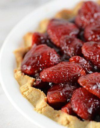 Strawberry Pie Recipe   ©addapinch.com