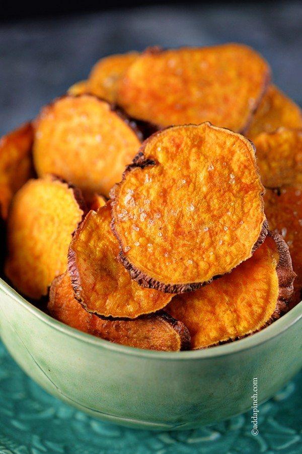 Sweet Potato Chips   ©addapinch.com