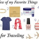 Favorite Things for Traveling