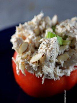 Chicken Salad Stuffed Tomatoes Recipe