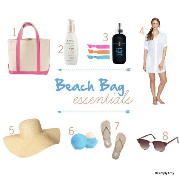Beach Bag Essentials from addapinch.com