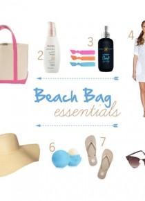 beach bag essentials from addapinch.com