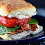 Biscuit BLT Sandwich Recipe