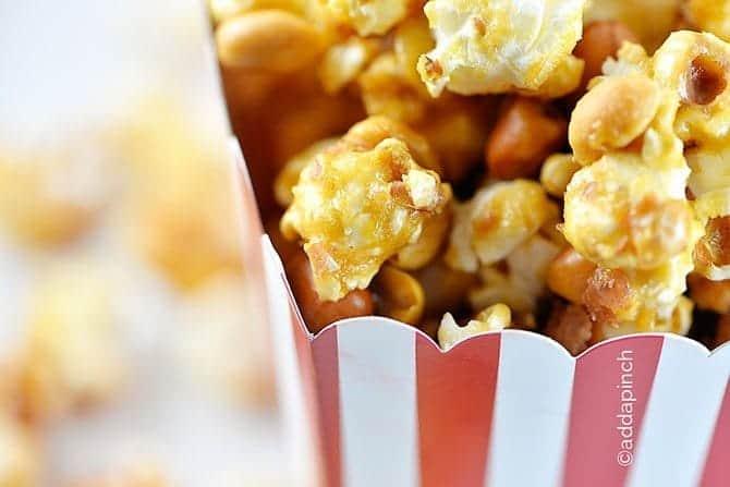 Homemade Cracker Jacks Popcorn Recipe - Add a Pinch