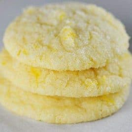 Lemon Sugar Cookie Recipe from addapinch.com