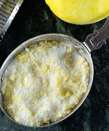 Lemon Sugar Recipe from addapinch.com