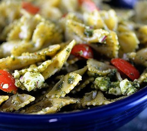 Pesto Pasta Salad Recipe Add A Pinch
