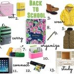 Back to School Supplies and Ideas