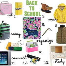 Back to School Ideas 2014 from addapinch.com