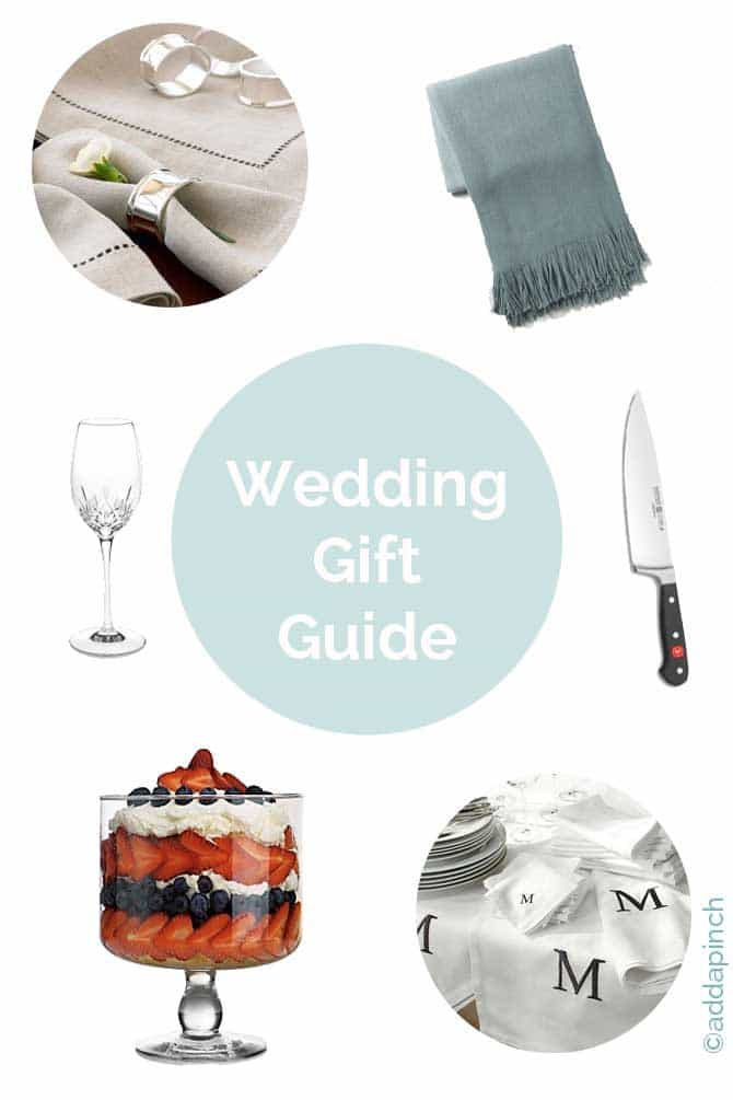Wedding Gift Guide : Wedding Gift Guide 2014 from addapinch.com