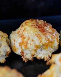 Garlic Cheddar Biscuits from addapinch.com
