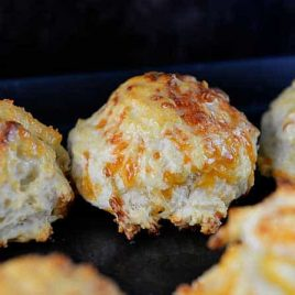 Garlic Cheddar Biscuits from addapinch.com