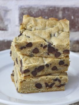 Chocolate Chip Blondies Recipe