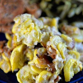 Fried Squash Recipe from addapinch.com