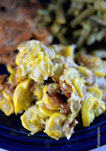 Fried Squash Recipe from addapinch.com